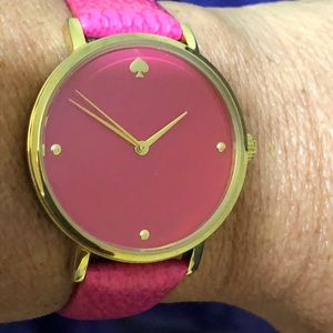 Authentic Kate Spade ♠️ Pink Watch, EUC
